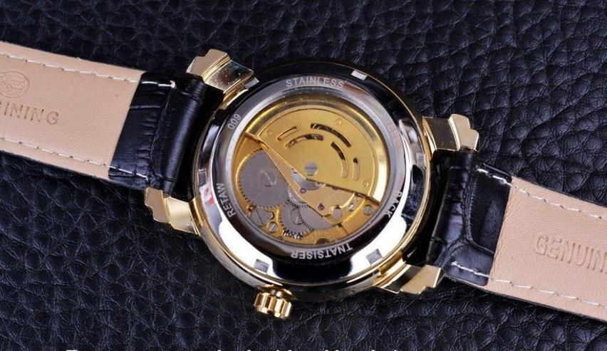 Bild 2: FORSINING - DIAMOND - goldplated - Tourbillion - TOP - NEU - OVP