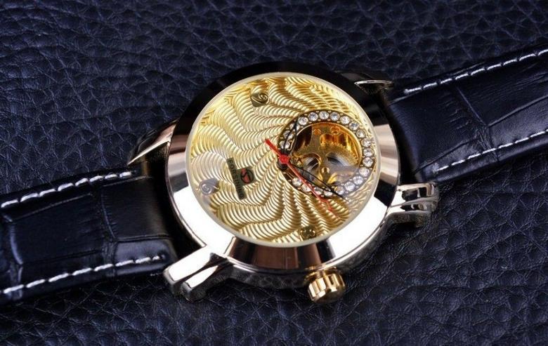 Bild 3: FORSINING - DIAMOND - goldplated - Tourbilliondesign - TOP - NEU - OVP