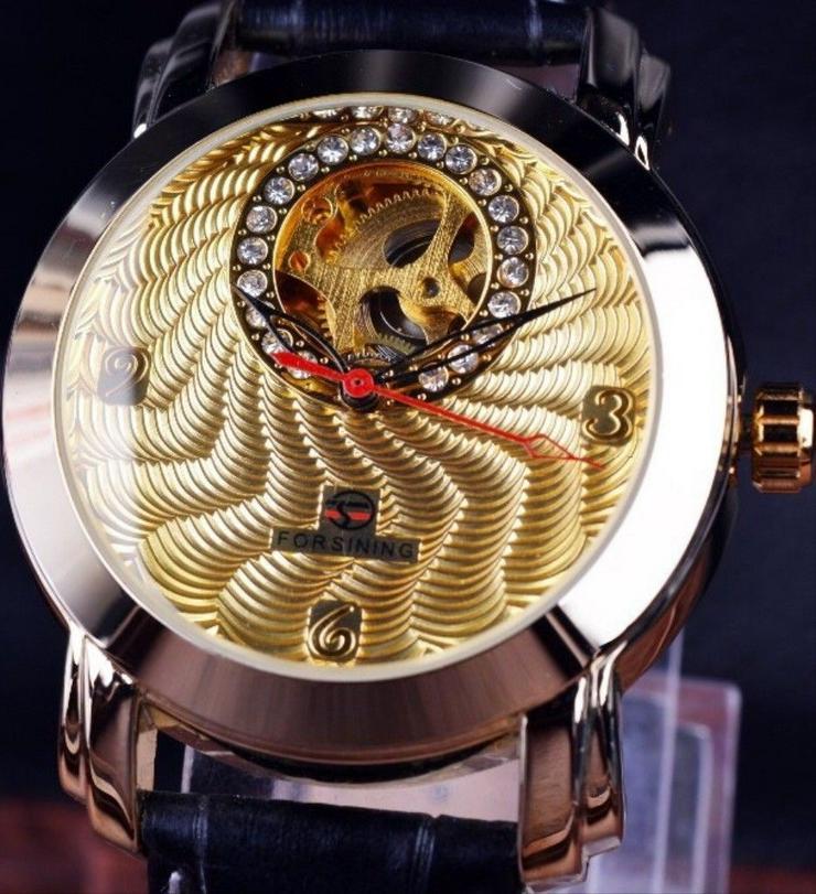 Bild 6: FORSINING - DIAMOND - goldplated - Tourbilliondesign - TOP - NEU - OVP
