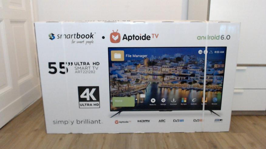 """Smartbook 55"""" 4K UHD SMART LED TV Fernseher"""