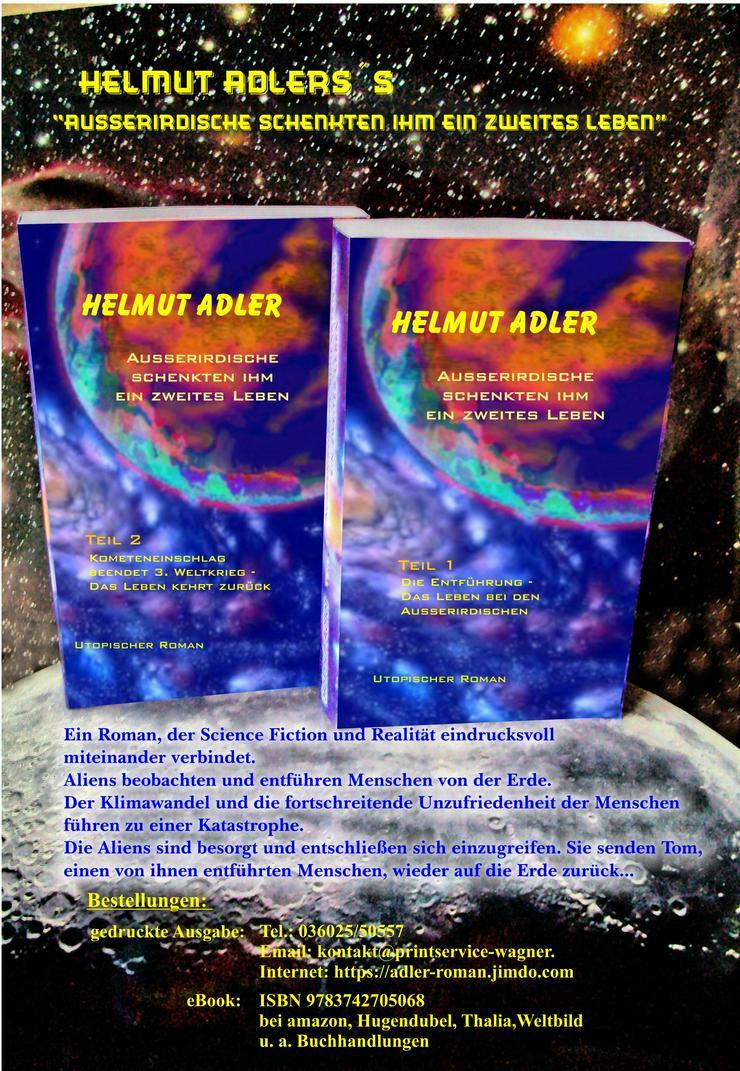 Science Fiction Roman  - Neuerscheinung als ebook und Printausgabe