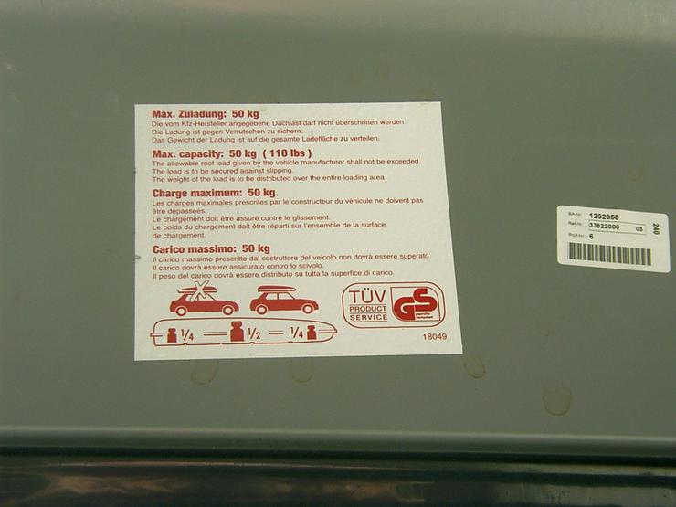 Bild 6:  Dachbox für Kfz mieten statt kaufen! Ab nur € 2,50 pro Tag!
