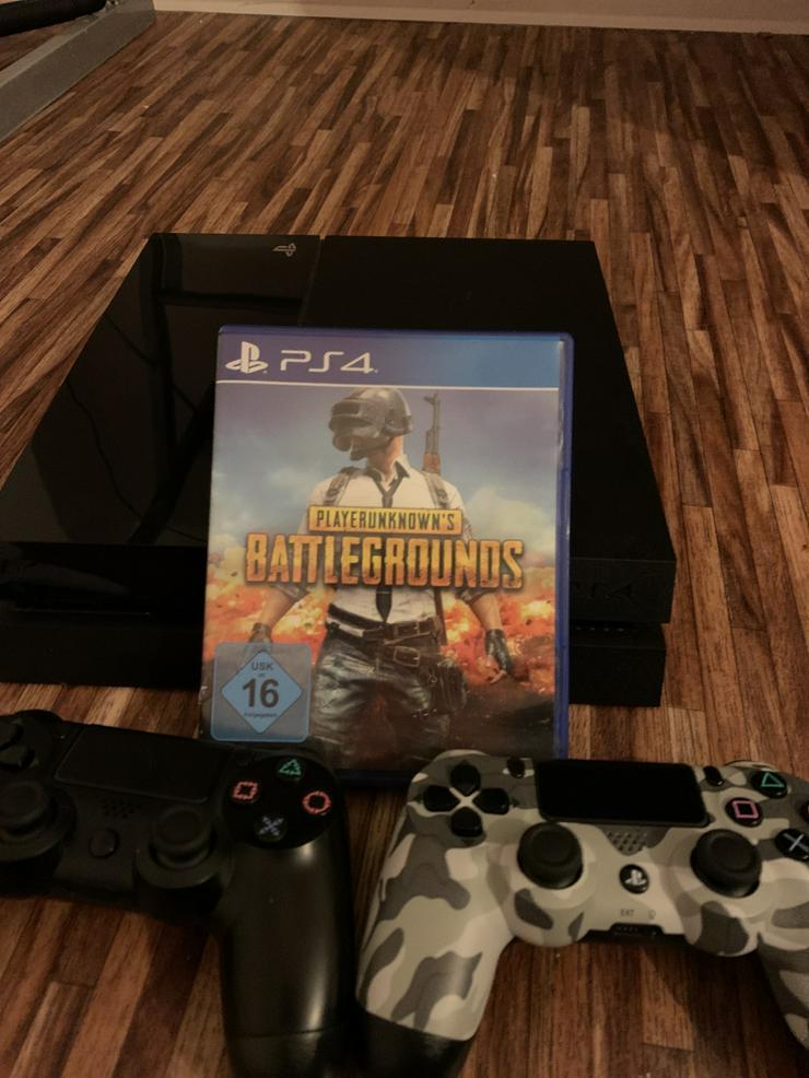 Bild 3: PS4 mit 2 Controller und 1 Spiel PUBG