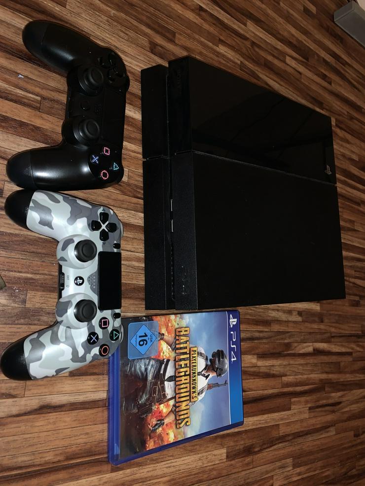Bild 2: PS4 mit 2 Controller und 1 Spiel PUBG