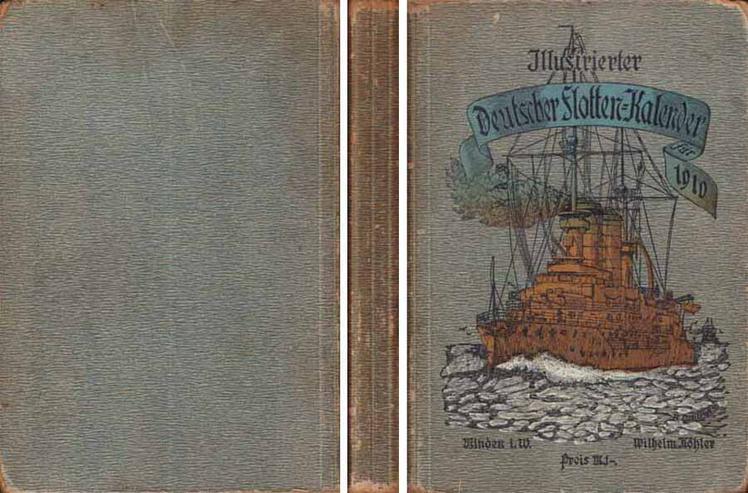 Illustrierter Deutscher Flottenkalender für 1910 - 1. Jahrgang - M. Plüddermann
