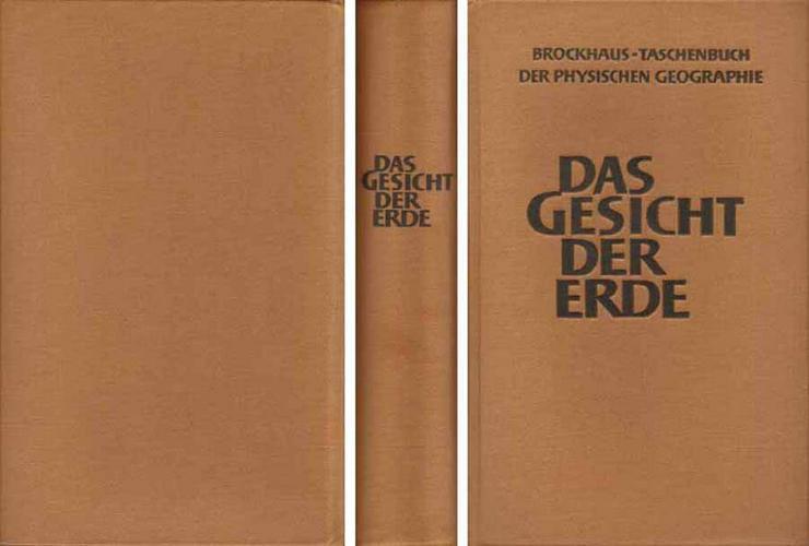 Buch von Prof. Dr. Ernst Neef - Das Gesicht der Erde - mit einem ABC - 1962
