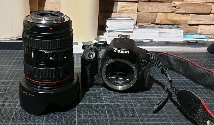 Bild 6: Canon EOS 650D inkl. Zubehör zum Mieten / Leihen