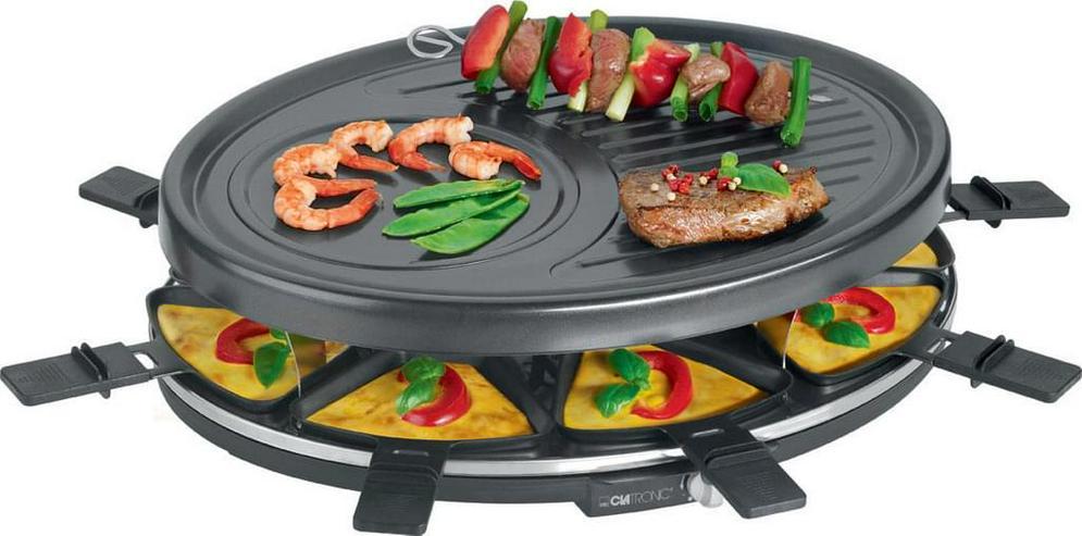 Clatronic RG 3517 Raclette-Grill zum Grillen und Überbacken.( Neu