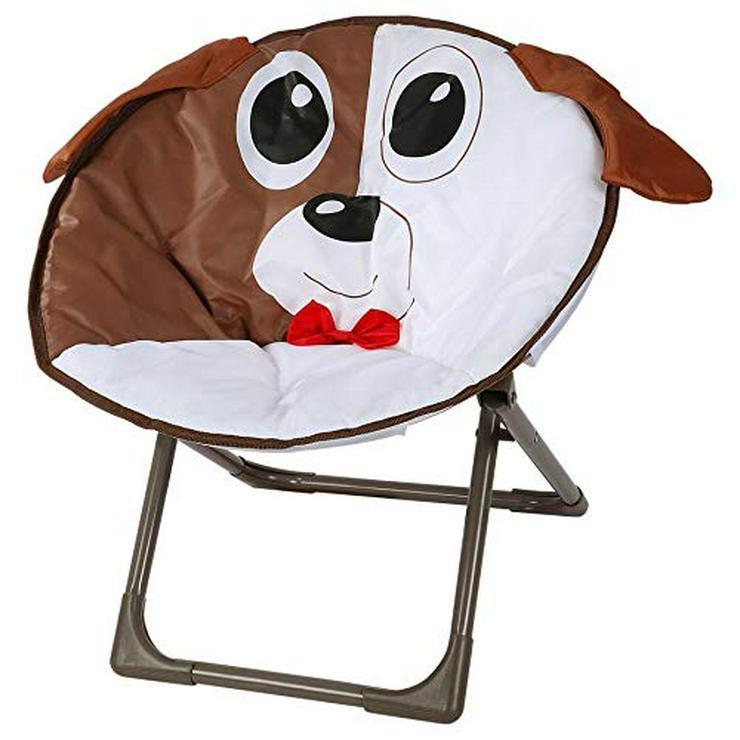 Kinderstuhl im lustigen Hundedesign für Kinder, oder Kleine Hunde