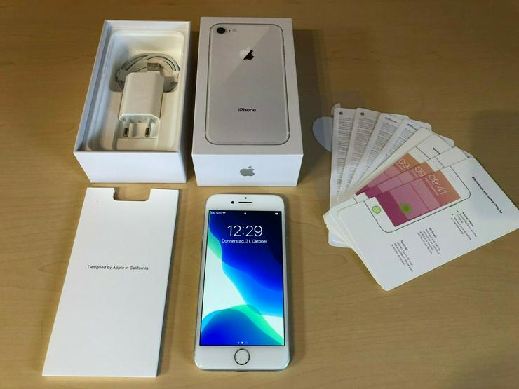 Bild 3: Apple iPhone 8 - 64GB - Silber (Ohne Simlock) in OVP