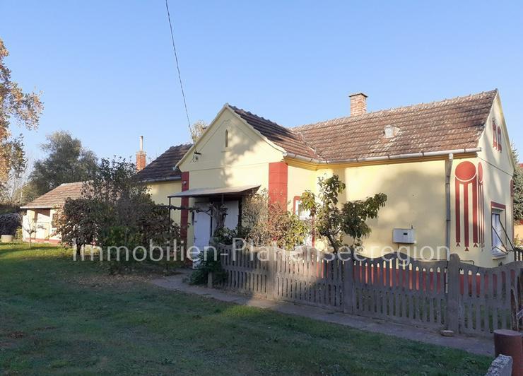 Teilw. renov. Haus Ungarn Balatonr. Grdst. 1.024m² Nr.20/149