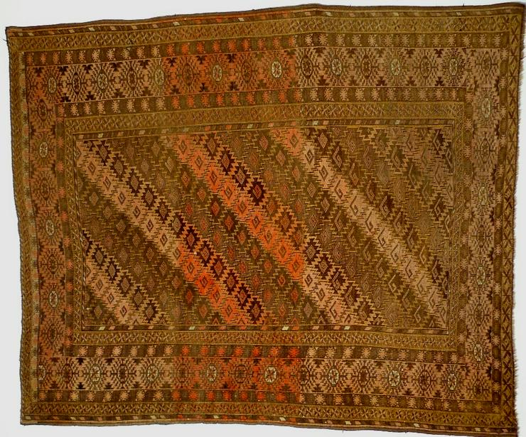 Orientteppich Turkestan antik 198x162 (T090)