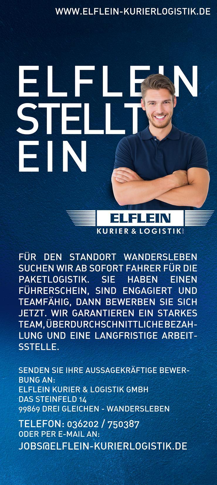 Elflein sucht Fahrer für die Paketlogistik