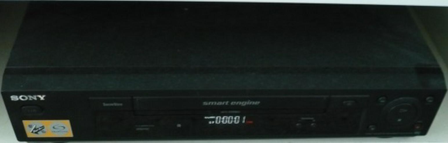 VHS Recorer Sony + Original Filme - Video Recorder - Bild 1