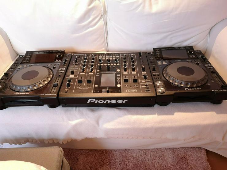 1x DJM 2000 2 x CDJ 2000 Nexus - DJ-Technik & PA - Bild 1