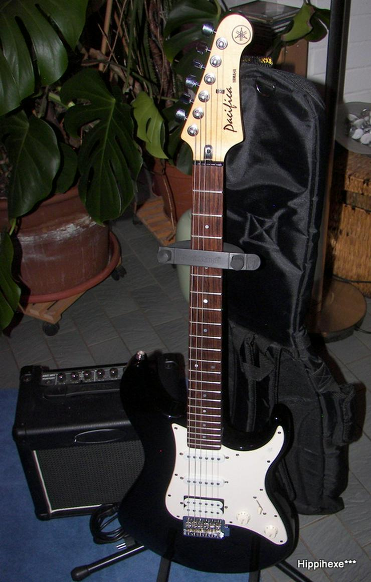 Verkaufe tolle E-Gitarre Yamaha Pacifica, PAC-112J in schwarz Hessen…