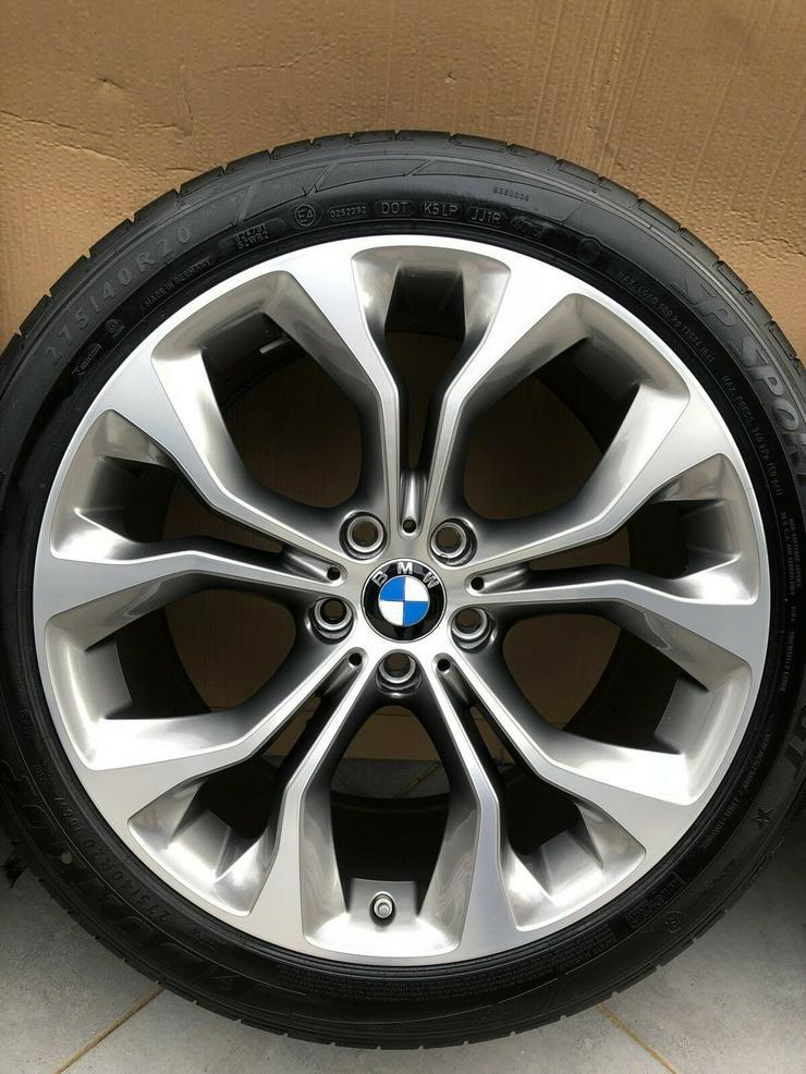 Bild 3: 4 x original 20 Zoll BMW X5 F15 X6 F16 Styling 451 Sommerradsatz DOT16 RDK NEU