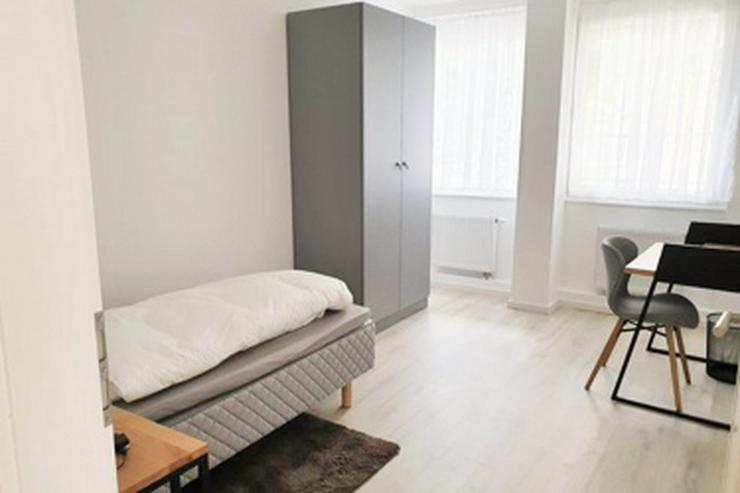 Bild 2: möbl. Co-Living: möblierte WG-Zimmer mit Wlan, TV, Gästeküchen, EtagenDu/Wc, Waschmaschine, Trockner