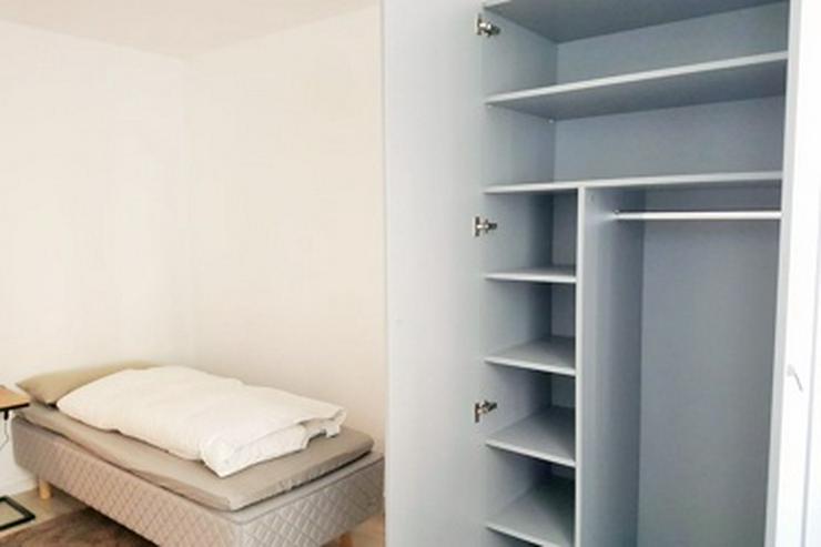 Bild 3: möbl. Co-Living: möblierte WG-Zimmer mit Wlan, TV, Gästeküchen, EtagenDu/Wc, Waschmaschine, Trockner