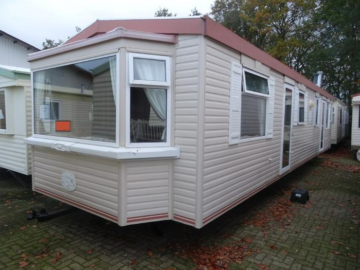Mobilheim Atlas Solitaire winterfest wohnwagen dauerwohnen camping caravan platz - Wohnwagen - Bild 1