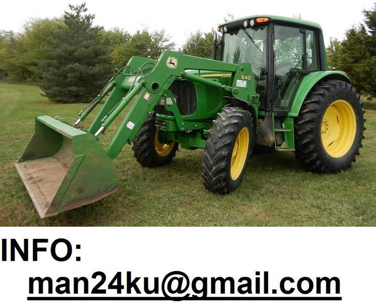 Traktor John Deere 6320 Premium ink. Schaufel