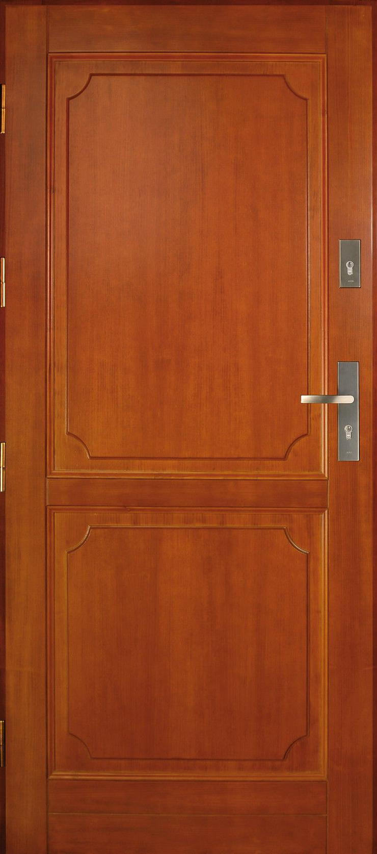 Bild 2: Tür DZ2 Holzaußentüren Haustür Eingangstür 60/70/80/90/100 Breite 6 Farben