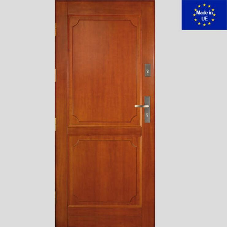 Tür DZ2 Holzaußentüren Haustür Eingangstür 60/70/80/90/100 Breite 6 Farben
