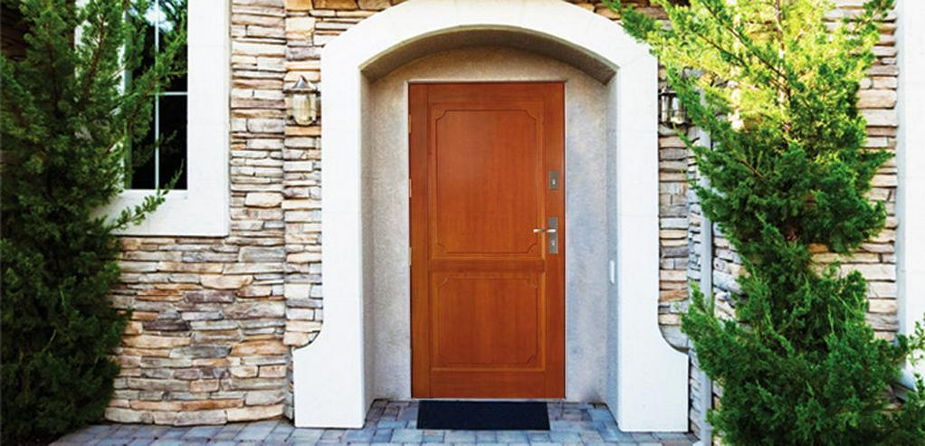Bild 3: Tür DZ2 Holzaußentüren Haustür Eingangstür 60/70/80/90/100 Breite 6 Farben