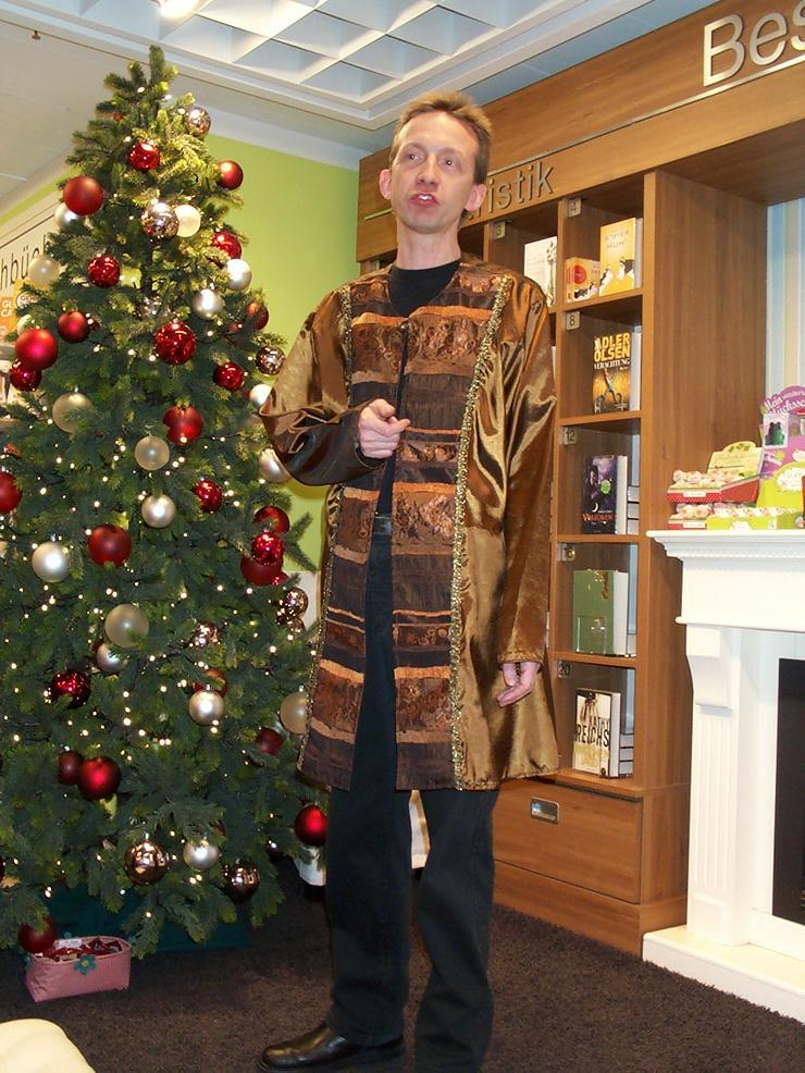 Weihnachtsfeiern und Märkte : Erzählzeiten Firmen und Familien