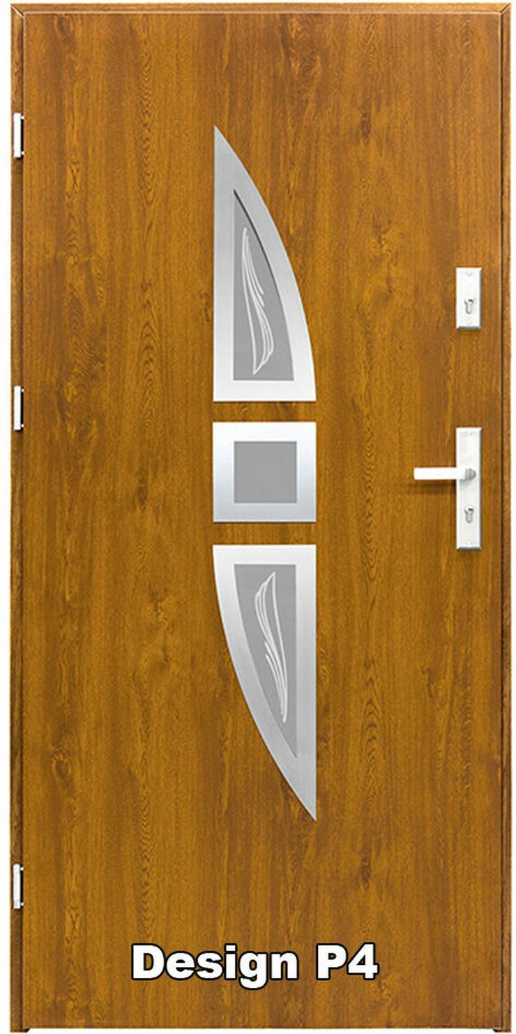 Bild 4: Haustür P1/P2/P3/P4 Eingangstür Stahltür Tür 80 90 100 Breite 5 Farben weiß