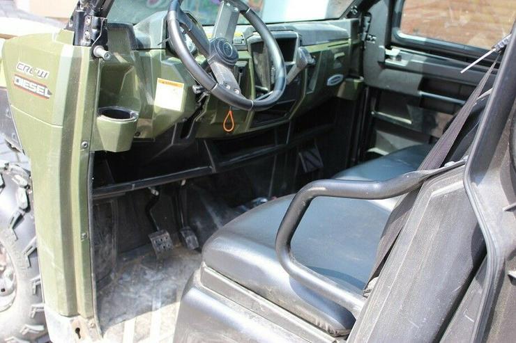 Bild 6: POLARIS RANGER 4X4 KIPPER, ALLRAD 4WD, 6 SITZE !!! 1028cc Diesel 2016