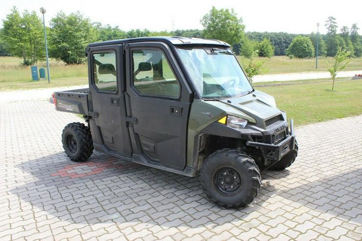 Bild 3: POLARIS RANGER 4X4 KIPPER, ALLRAD 4WD, 6 SITZE !!! 1028cc Diesel 2016