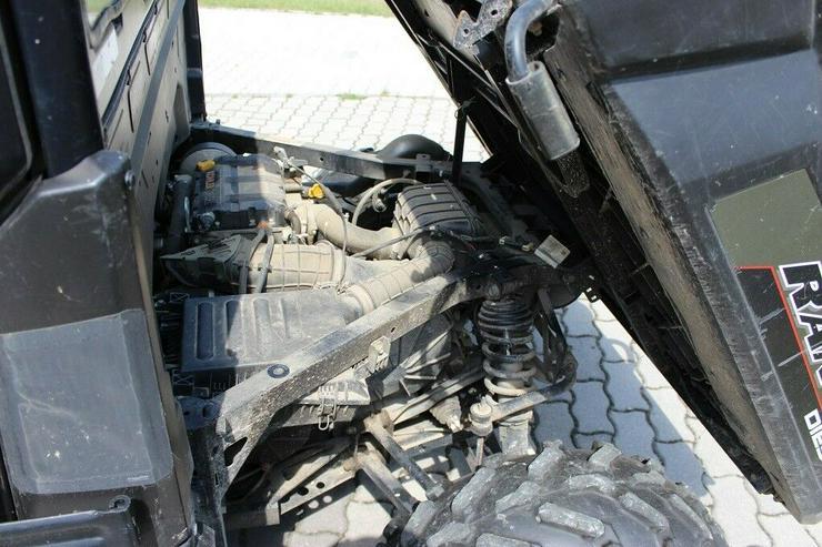 Bild 10: POLARIS RANGER 4X4 KIPPER, ALLRAD 4WD, 6 SITZE !!! 1028cc Diesel 2016