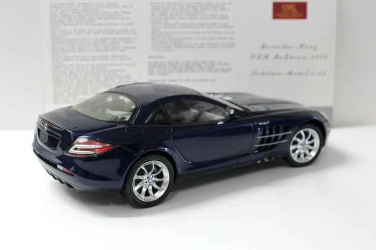 Bild 4: CMC Mercedes SLR McLaren 1:12 2003 dark blue C-006D NEW bei PREMIUM-MODELCARS