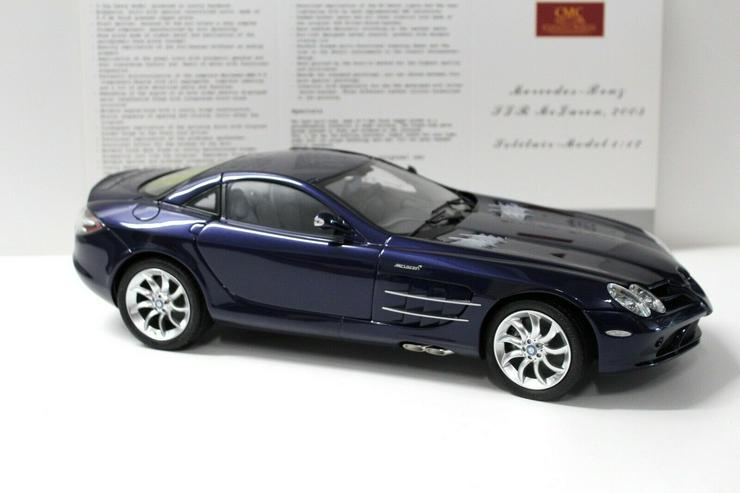 Bild 3: CMC Mercedes SLR McLaren 1:12 2003 dark blue C-006D NEW bei PREMIUM-MODELCARS