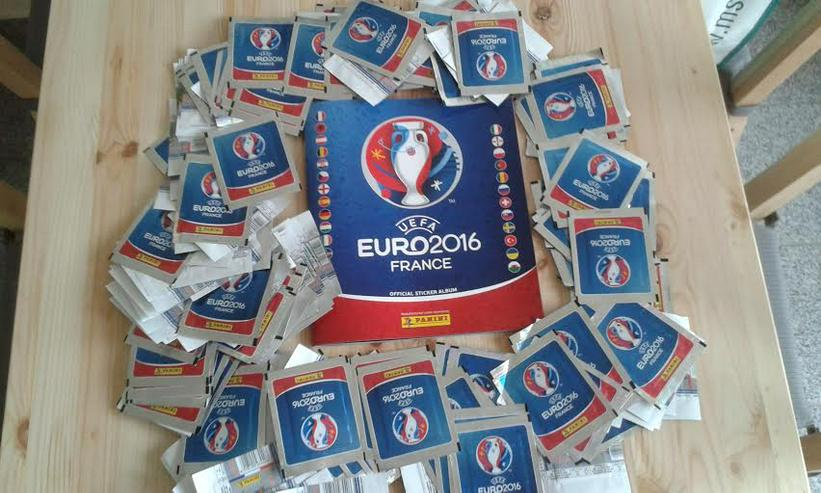 Panini Sticker EM 2016 - 147 Tüten => 735 Sticker