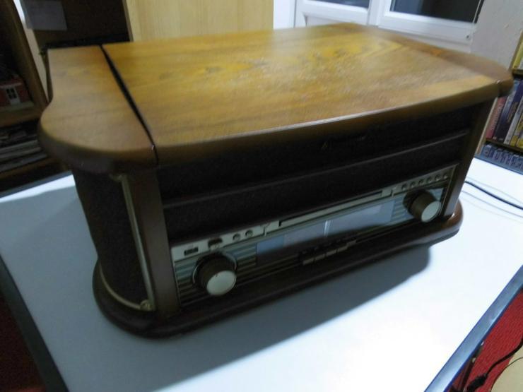 Stereo Nostalgie Komplettanlage Soundmaster