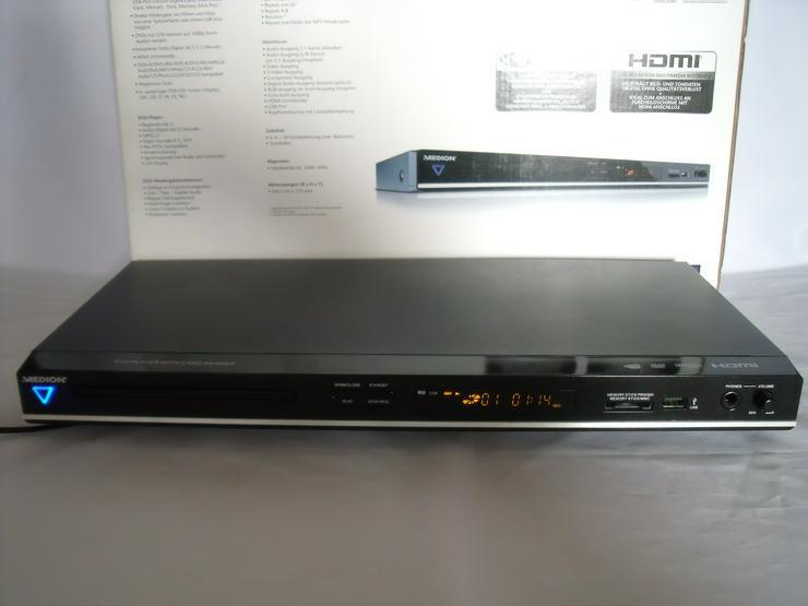 Medion MD Full HD, DVD-Player DivX, HDMI, USB, Wie neu.