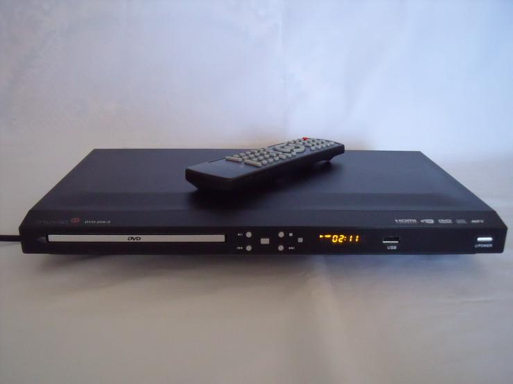 DVD Player Muvid 206 ,HDMI, DviX, USB, mit Fernb: FULL HD