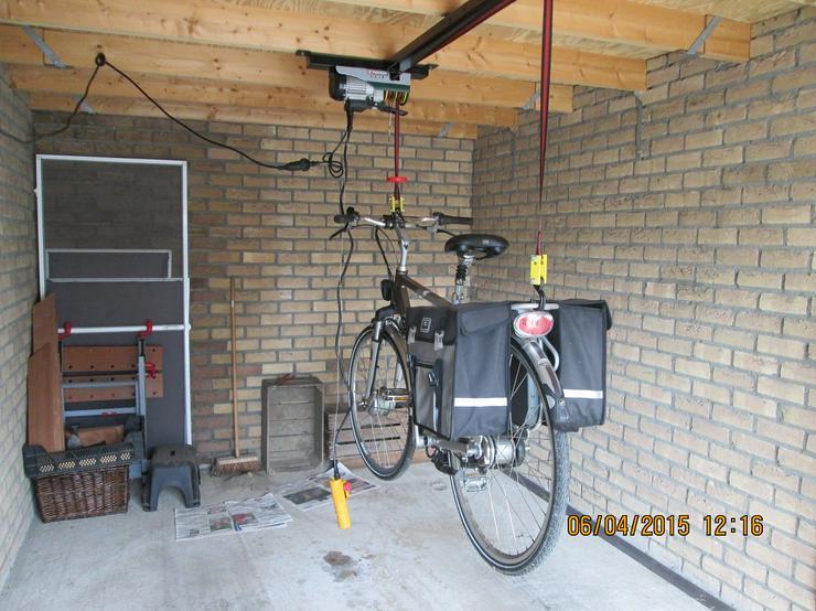Bild 5: Elektrischer Fahrradaufzug Fahrradseilzug   Deckenlift