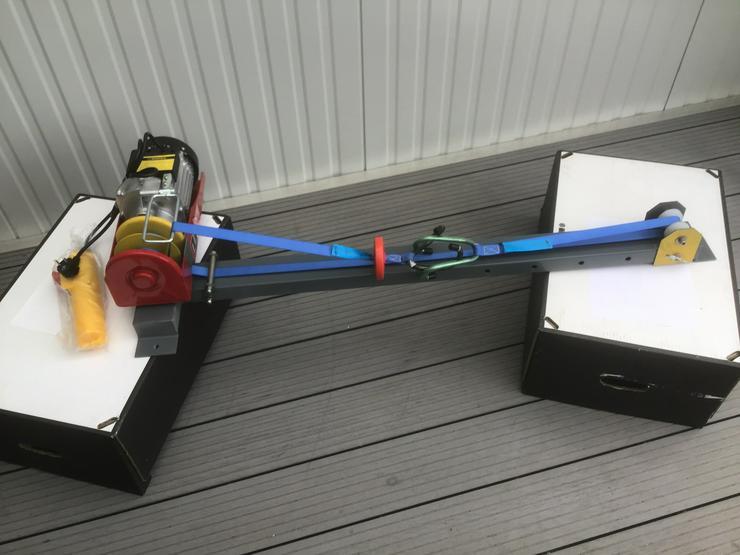 Elektrischer Fahrradaufzug Fahrradseilzug   Deckenlift