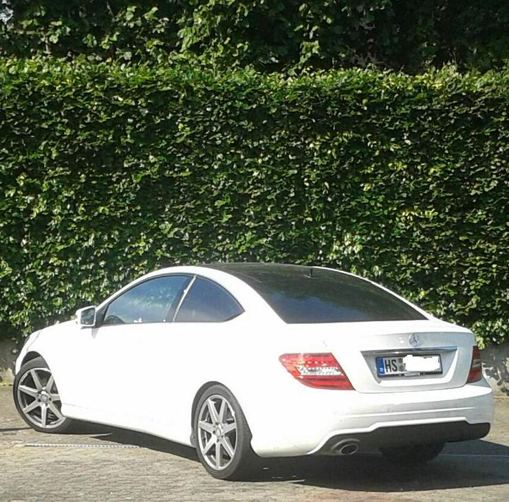 180 C Coupe, weiß, Panoramaschiebedach, AMG Austattung