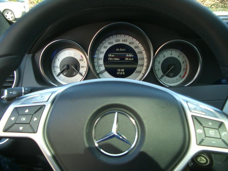 Bild 6: 180 C Coupe, weiß, Panoramaschiebedach, AMG Austattung