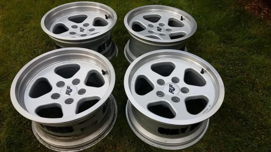 Bild 3: 4 RUF Speedline Felgen für Porsche