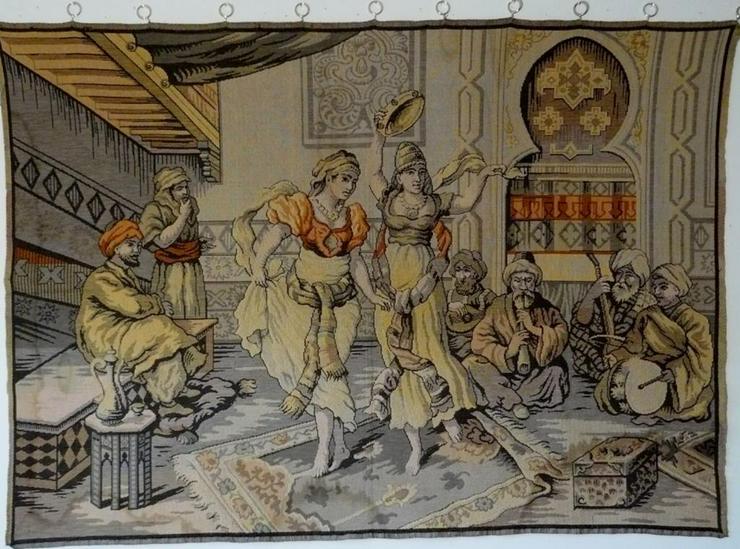 Gobelin Bildteppich antik groß (G013)