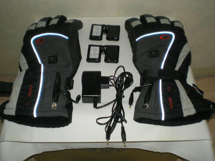 Elektrisch beheizte Handschuhe Ultrasport Herren Größe XL
