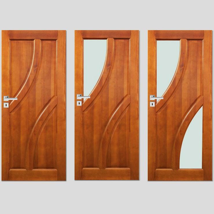 Ungefälzte Holzüren Bogota Stolgen Premium Klinke Zarge lackiert 60-90 Innentür