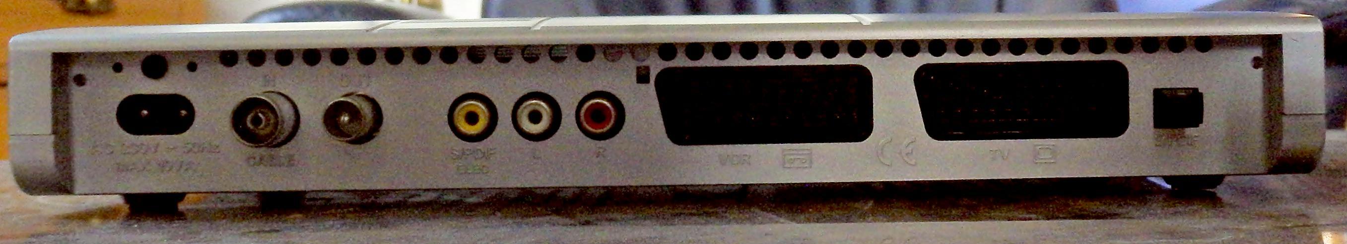 Bild 2: Digitalreceiver für Kabelfernsehen der Marke Technisat