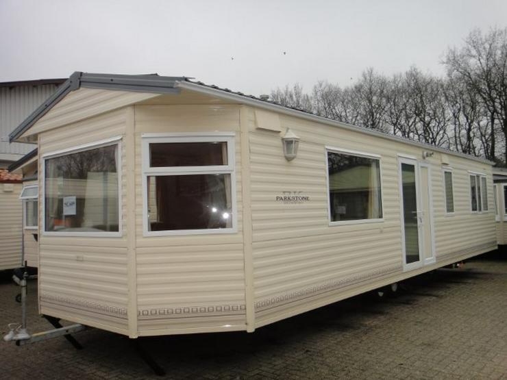 Mobilheim Nordhorn BK Bluebird Parkstone winterfest wohnwagen dauerwohnen caravan winterfest