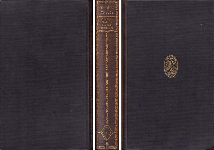 Tempel-Klassiker - Lessings gesammelte Werke 1. bis 6. Band